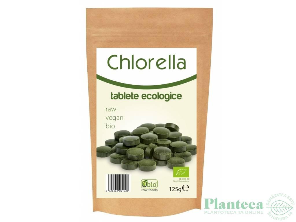 Chlorella tablete 500mg 250cp - OBIO