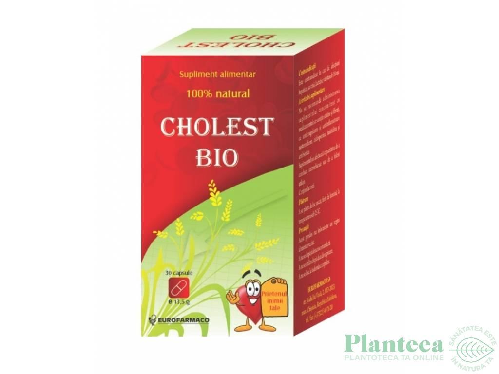 Cholest bio 350mg 30cp - EUROFARMACO