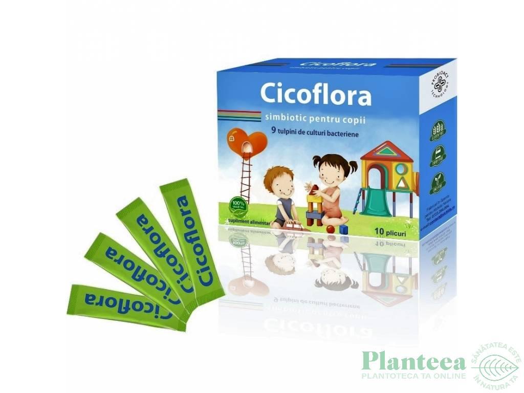 Simbiotic copii Cicoflora 10pl - ALCHIDA NATURE