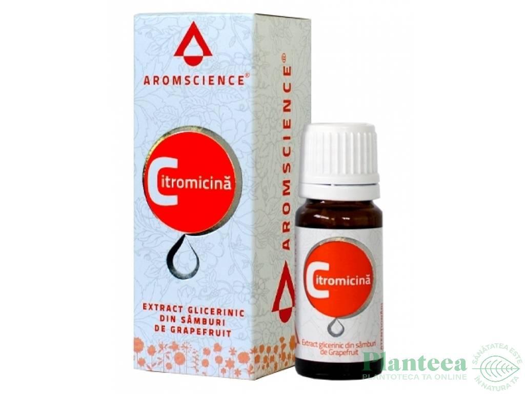Extract glicerinic samburi grepfrut Citromicina 30ml - AROM SCIENCE