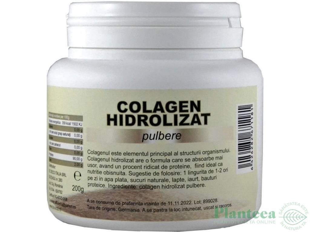 colagenul hidrolizat ajută la pierderea în greutate