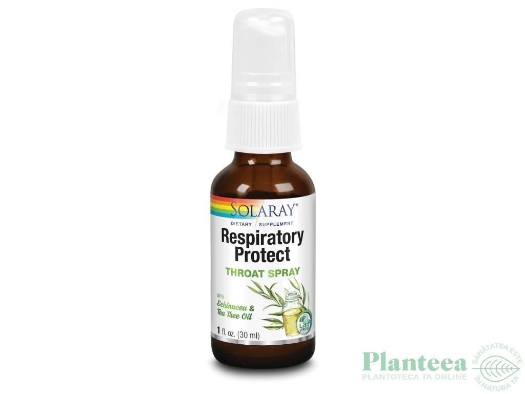 Spray gat Respiratory protect adults 30ml - SOLARAY