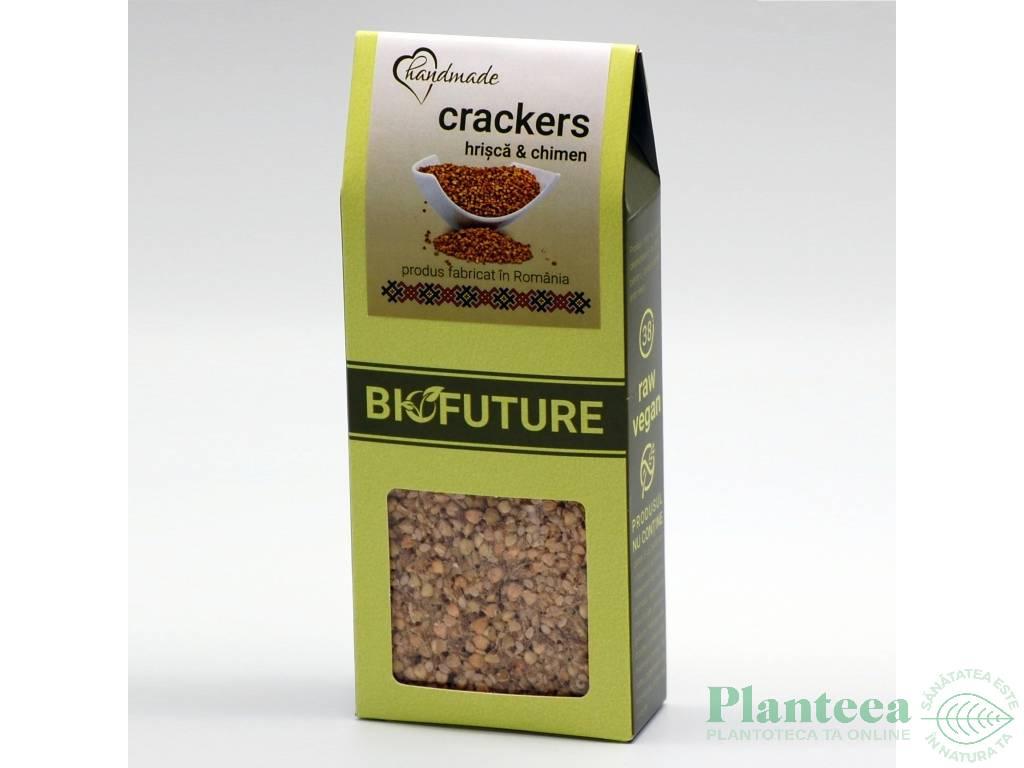 Painici crocante proteice hrisca chimen 100g - BIOFUTURE