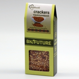Crackers hrisca scortisoara 100g - BIOFUTURE