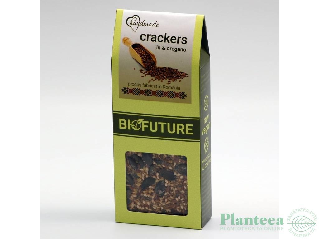 Painici crocante proteice seminte in oregano 100g - BIOFUTURE