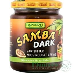 Crema desert alune nougat Samba dark 250g - RAPUNZEL
