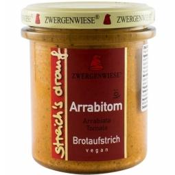 Crema tartinabila tomate arrabbiata 160g - ZWERGENWIESE