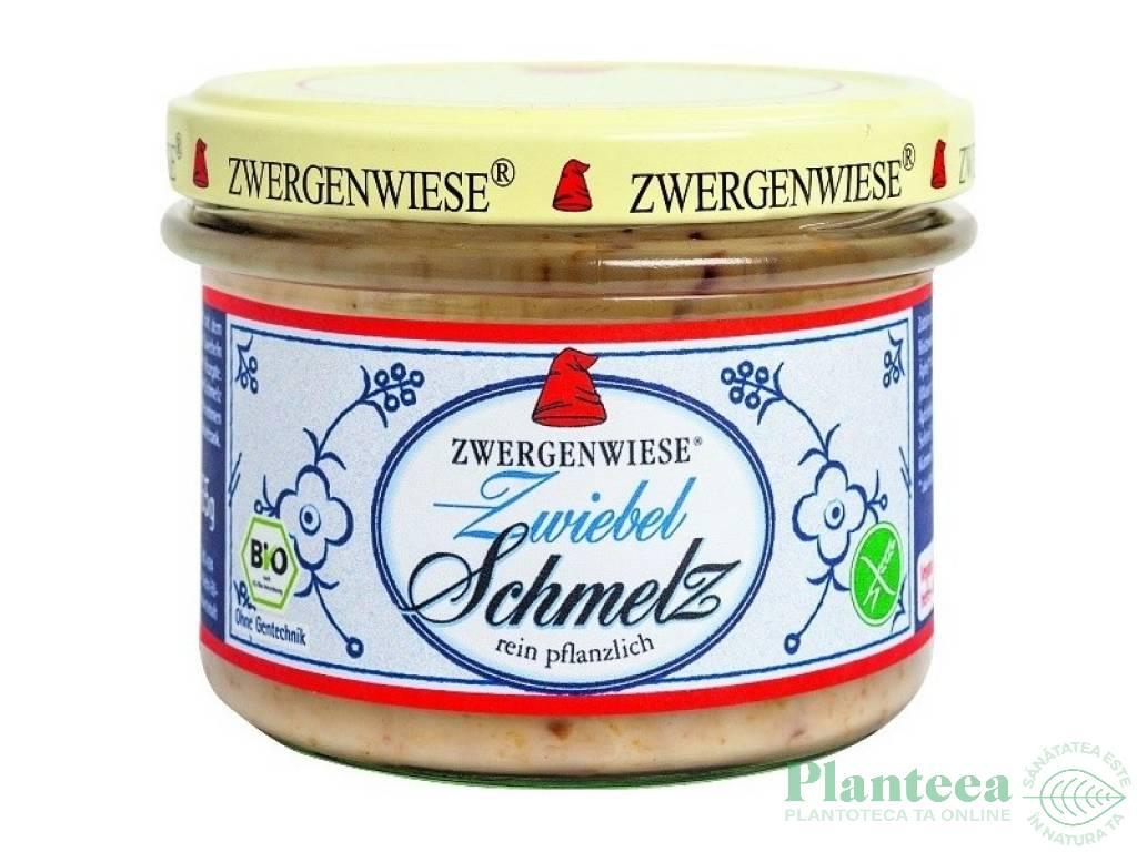 Crema tartinabila ceapa Schmelz 165g - ZWERGENWIESE