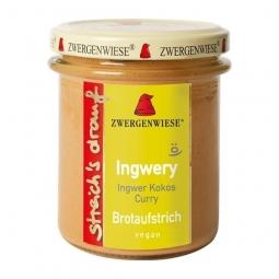 Crema tartinabila ghimbir cocos curry Ingwery 160g - ZWERGENWIESE