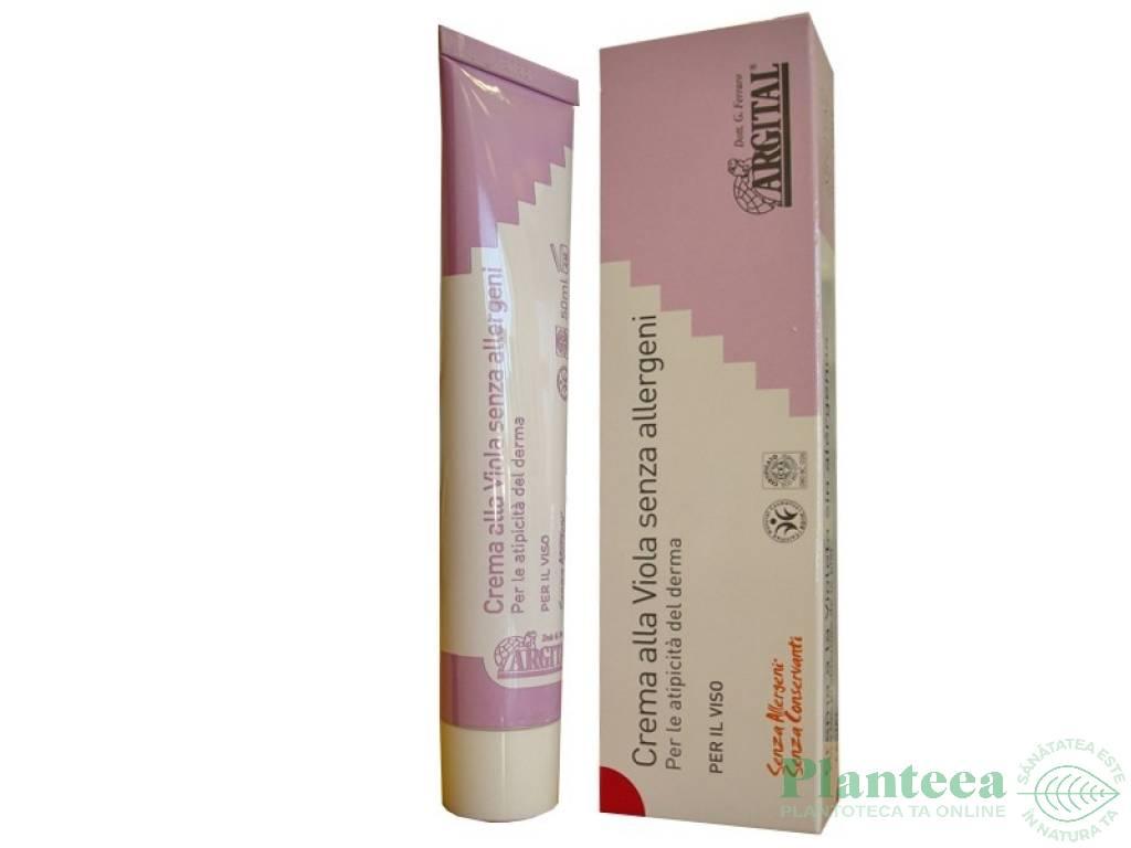 Crema fata violete fara alergeni 50ml - ARGITAL
