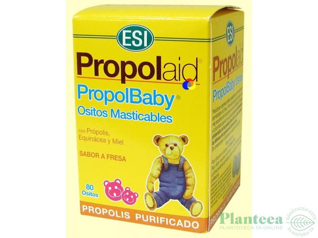 Ursuleti masticabili Propol Baby 80cp - ESI SPA