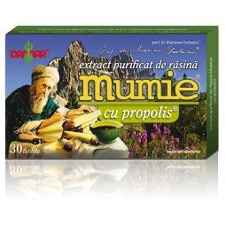 Mumie extract purificat rasina propolis 30cp - DAMAR