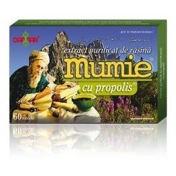Mumie extract purificat rasina propolis 60cp - DAMAR