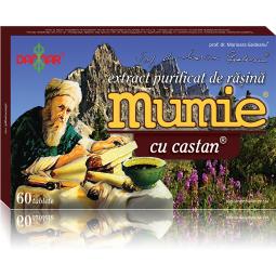 Mumie extract purificat rasina castan 60cp - DAMAR
