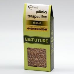 Painici crocante terapeutice diabet 100g - BIOFUTURE