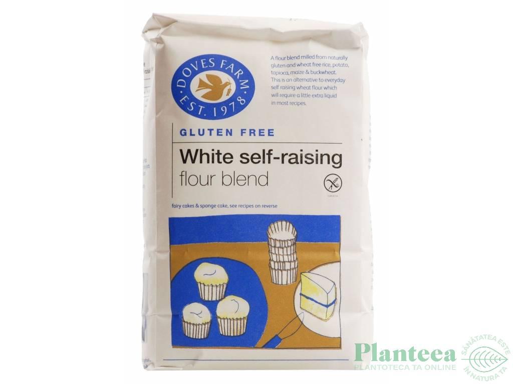 Faina amestec alba fara gluten agent crestere 1kg - DOVES FARM