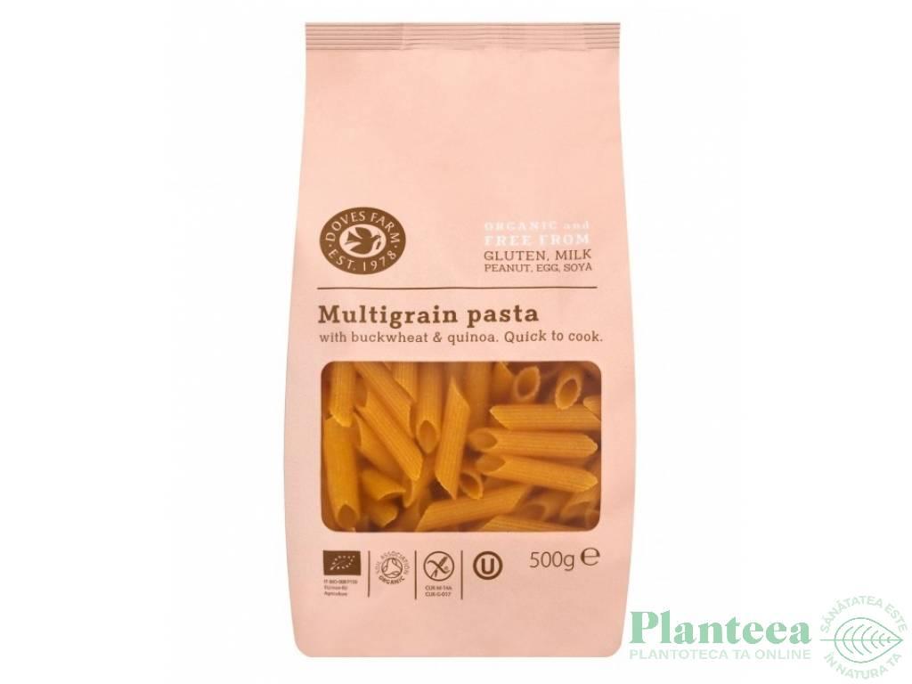 Paste penne multicereale fara gluten 500g - DOVES FARM