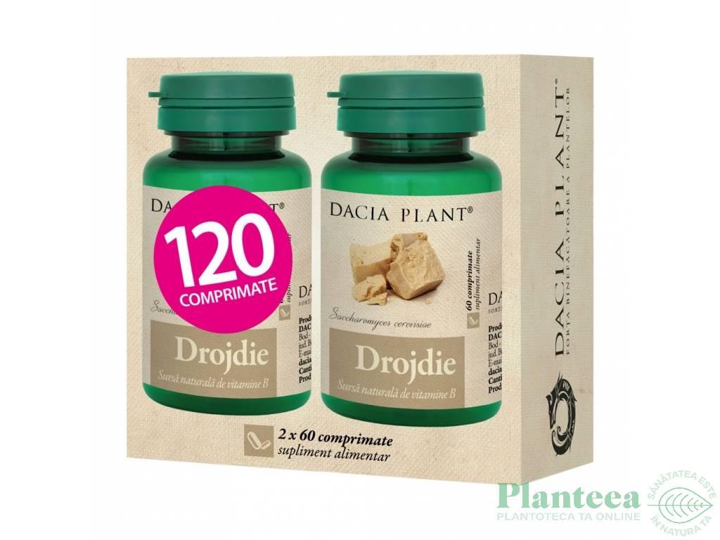 Pachet Drojdie {1+1} 60cp - DACIA PLANT