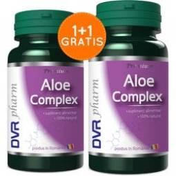 Pachet Aloe complex 60+30cps - DVR PHARM