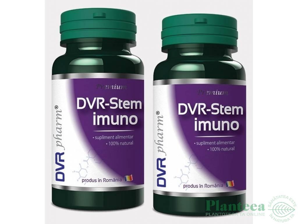 Pachet Stem imuno 60+30cps - DVR PHARM