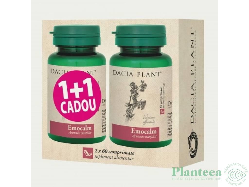 Pachet Emocalm {1+1} 60cp - DACIA PLANT