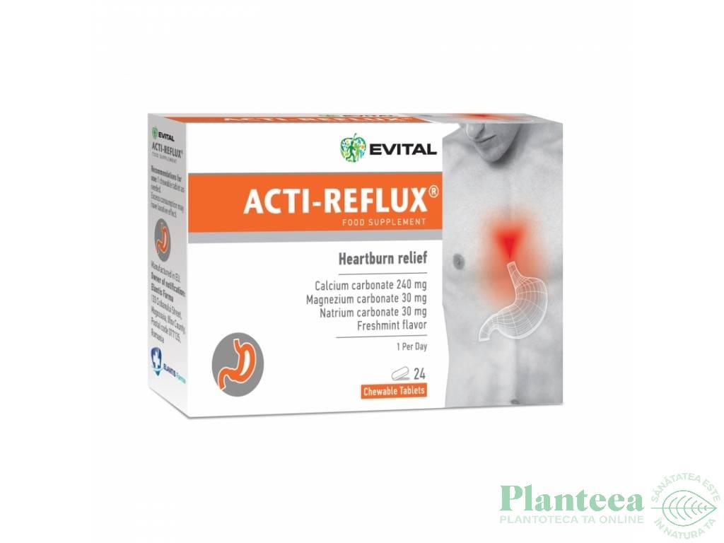 Acti reflux 24cp - EVITAL