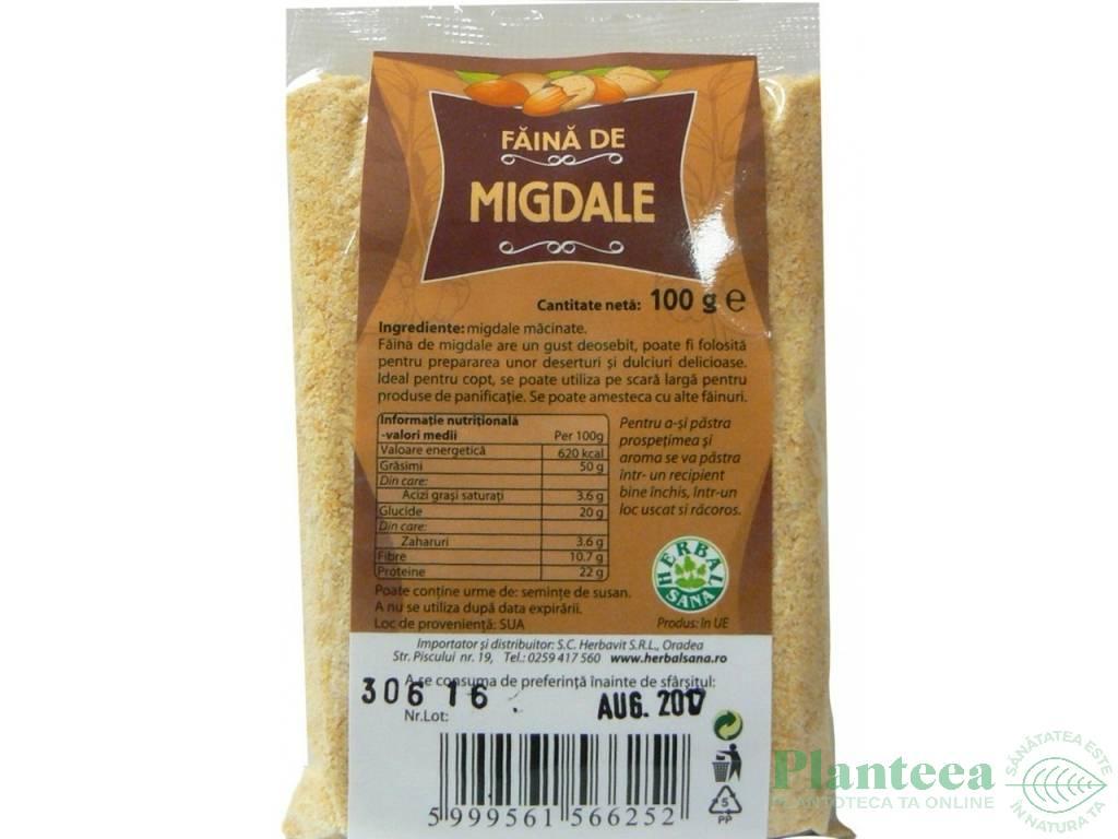 Faina de migdale (200 grame)