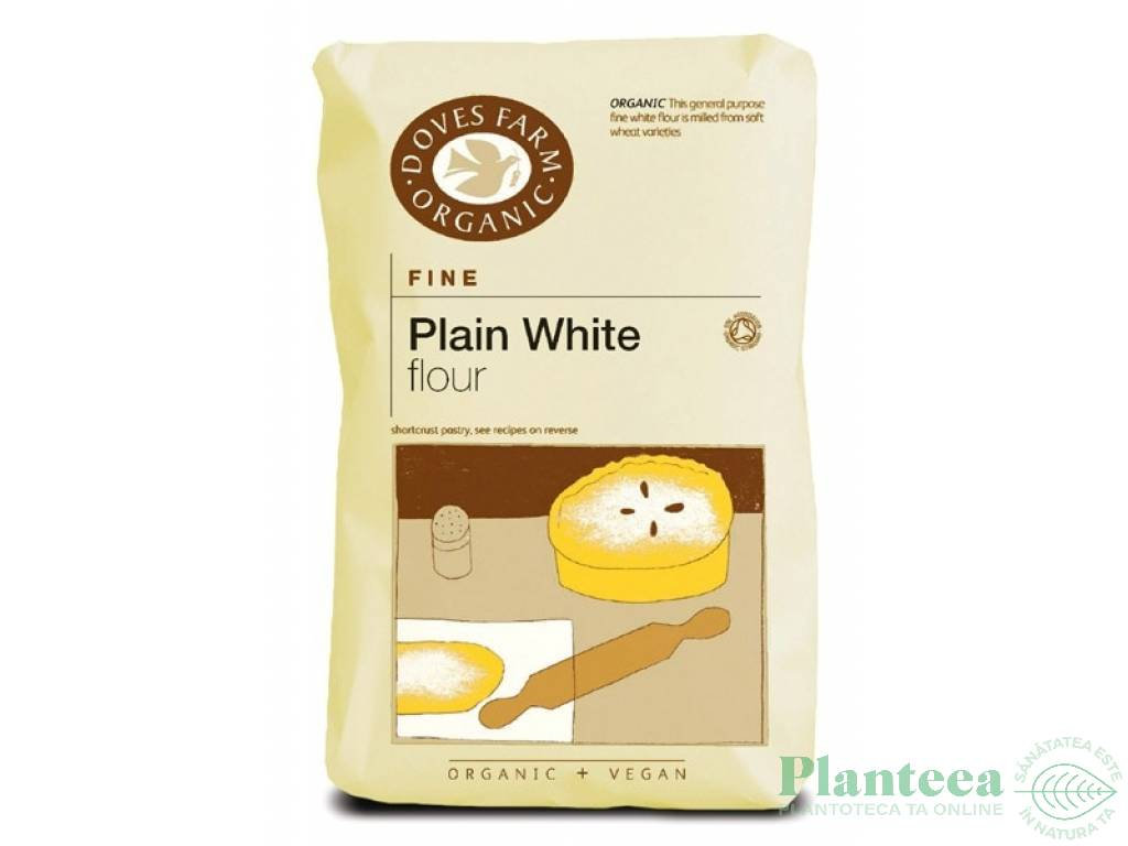 Faina grau alba fina 1kg - DOVES FARM