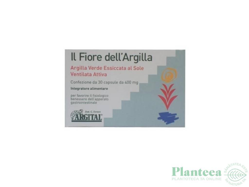 Argila verde floare 30cps - ARGITAL