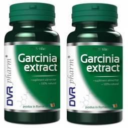 Pachet Garcinia extract 60+30cps - DVR PHARM