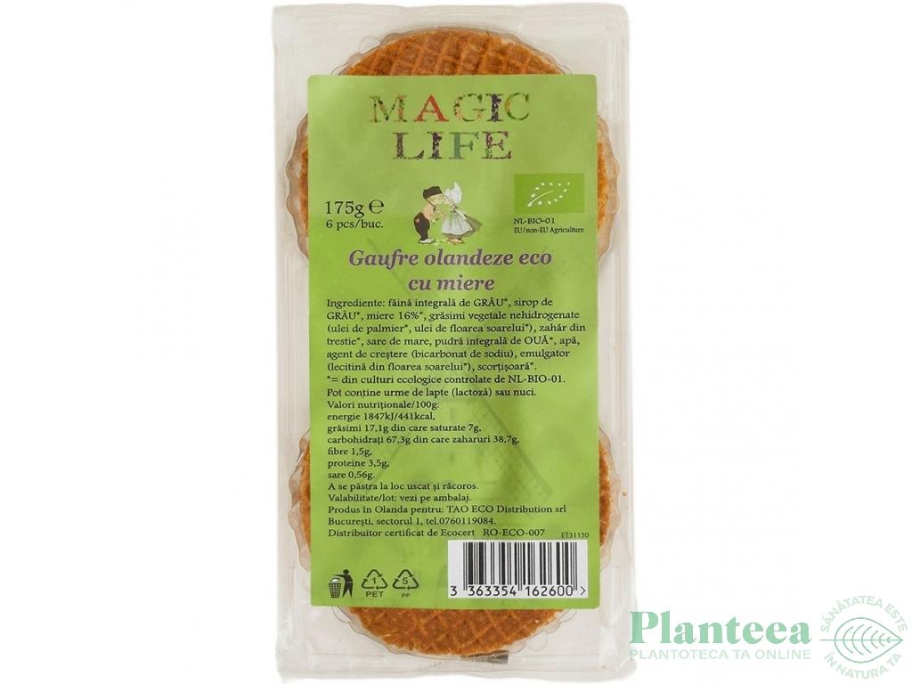 Gaufre miere bio 175g - MAGIC LIFE