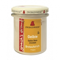 Crema tartinabila sfecla galbena ceapa Gelbie 160g - ZWERGENWIESE