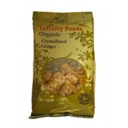 Ghimbir confiat bucati organic 250g - INFINITY FOODS