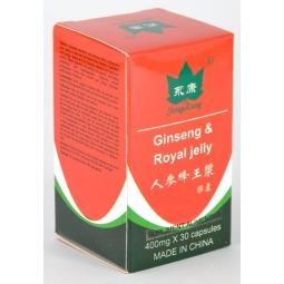 Ginseng royal jelly 30cps - YONG KANG