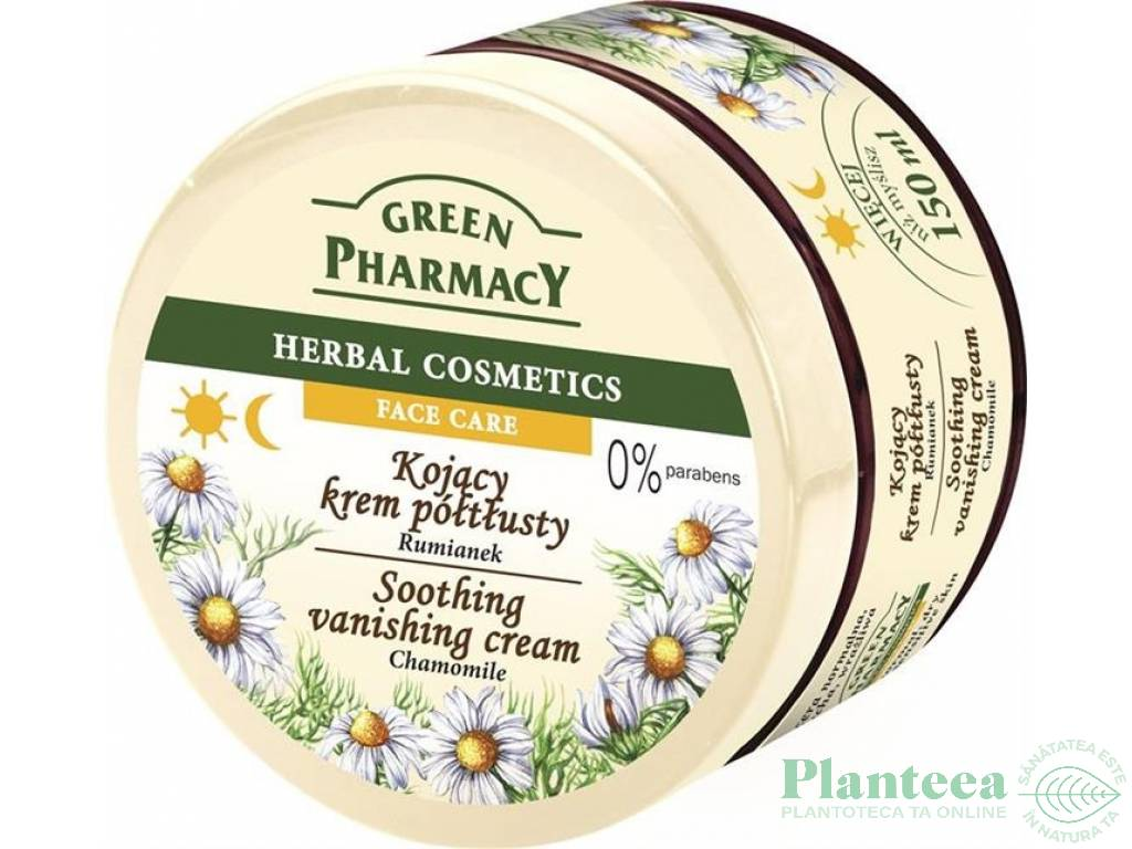 Crema fata calmanta musetel 150ml - GREEN PHARMACY