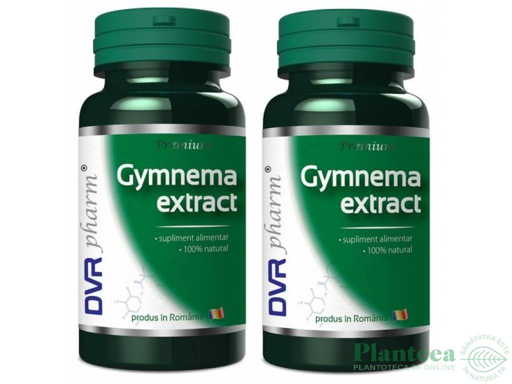 Pachet Gymnema extract 60+30cps - DVR PHARM