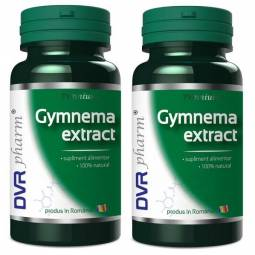 Pachet Gymnema extract 60+30cps - DVR PHARM