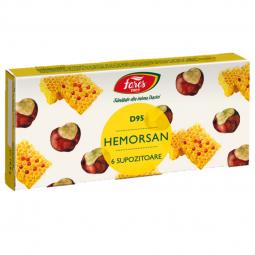 Supozitoare Hemorsan 6x1,8g - FARES