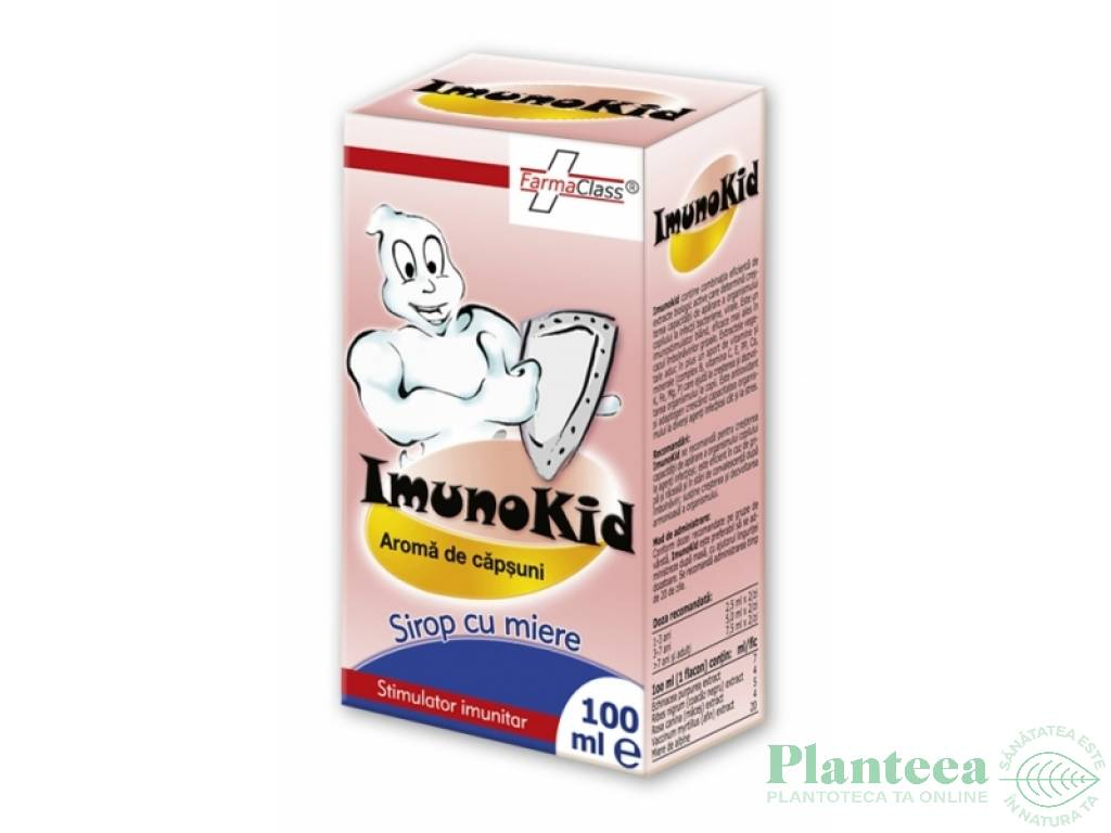 Sirop imunokid junior 100ml - FARMACLASS