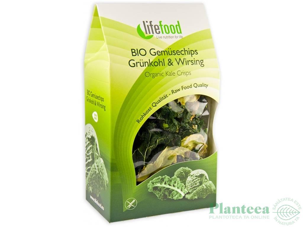 Chipsuri kale raw bio 20g - LIFEFOOD