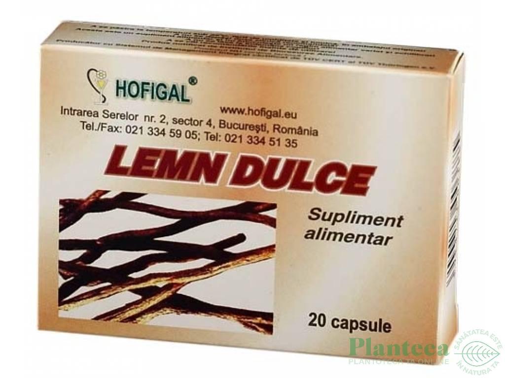 Lemn dulce 20cps - HOFIGAL