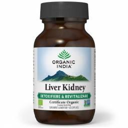 Liver kidney [detoxifiere revitalizare] 60cps - ORGANIC INDIA