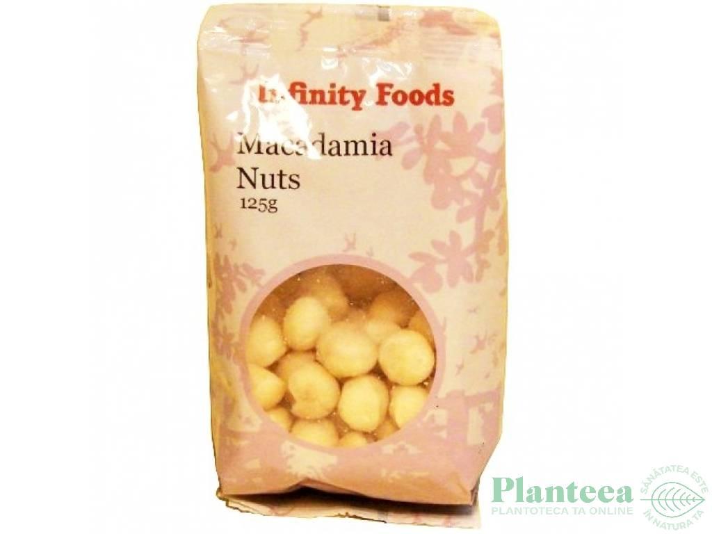 Macadamia crud 125g - INFINITY FOODS
