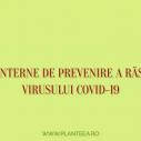 Masuri interne contra coronavirusului