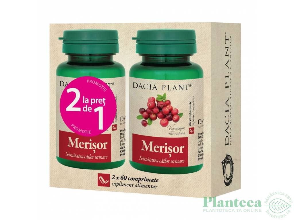 Pachet Merisor {1+1} 60cp - DACIA PLANT
