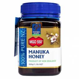 Miere Manuka mgo550+ New Zealand 500g - MANUKA HEALTH