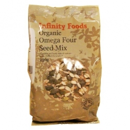 Mix 4seminte omega 250g - INFINITY FOODS