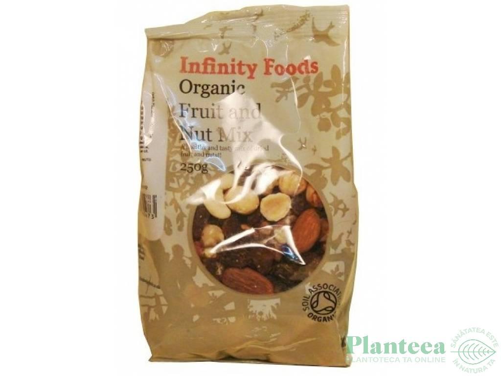 Mix fructe nuci 250g - INFINITY FOODS