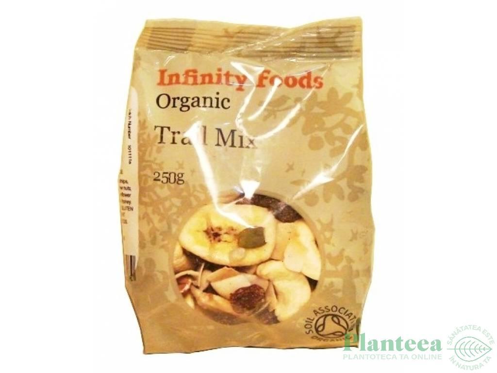 Amestec nuci fructe seminte Trail Mix 250g - INFINITY FOODS