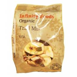 Amestec nuci fructe seminte Trail Mix 125g - INFINITY FOODS